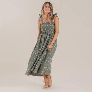 Rylee and Cru ladies ivy printed smock dress